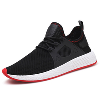 2019 Factory Direct Wholesale Price New Fashion Casual Lace-up Breathable Running Men Sport Shoes