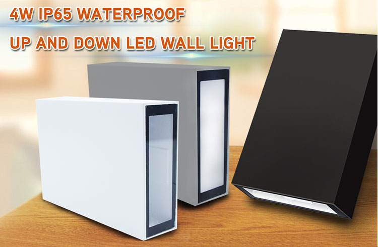 2020 foshan factory up and down led wall light 4W