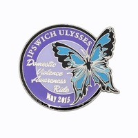 2019 low price custom metal soft enamel badge pin