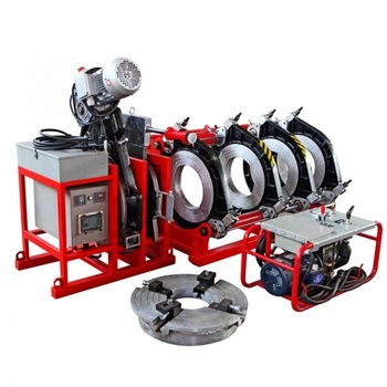 160-315 mm Hydraulic Butt Fusion plastic HDPE/ppr Pipe Welding Machine