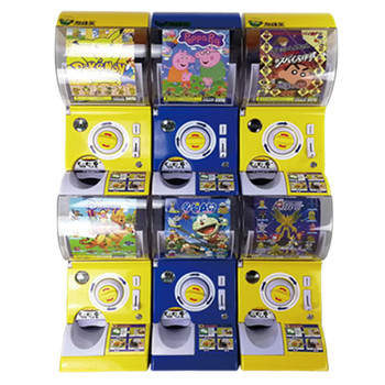 Best Capsule Gashapon Vending Machine, High Quality Capsules Toy Machines Gumball Vending Machine Gacha Two Layers.