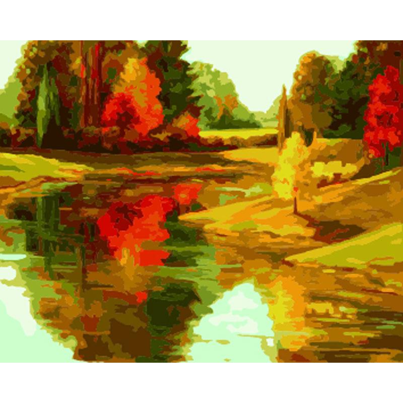Оптовая продажа осенние пейзажи. Купить лучшие осенние ...
