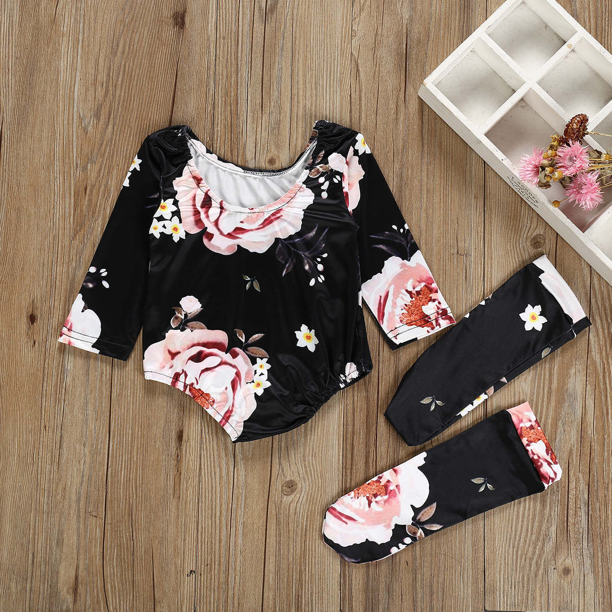 newborn baby girls long sleeve camo romper 2020 baby bodysuit set