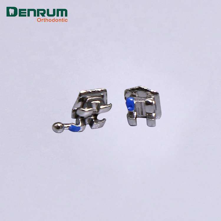 Denrum Beugels Orthodontie Mesh Base Mini Roth Beugels Met CE ISO FDA
