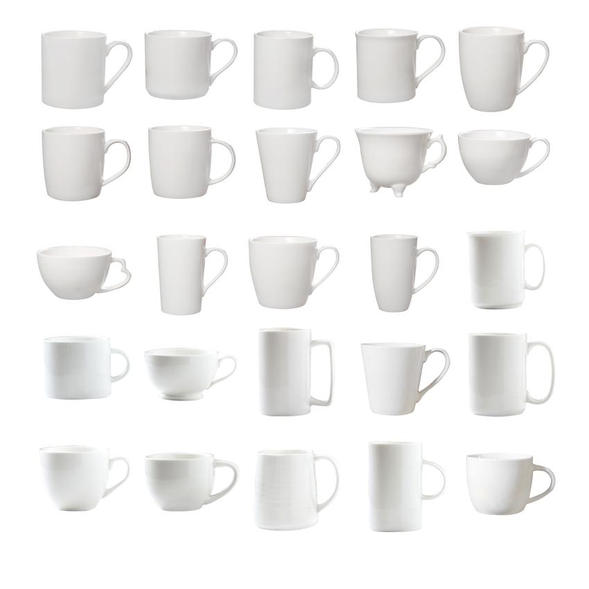 2020 חדש 5-17oz אקו ידידותי סיטונאי קרמיקה כוס ריק מותאם אישית חדש קרמיקה ספל 11oz קרמיקה קפה כוס