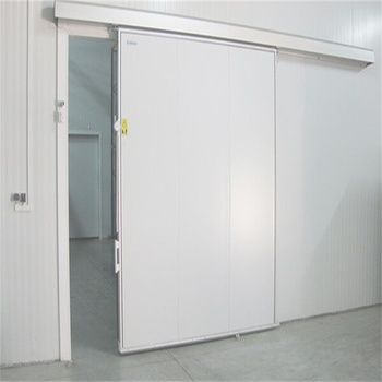 Hot sale automatic cold storage/cold room sliding door for cold room