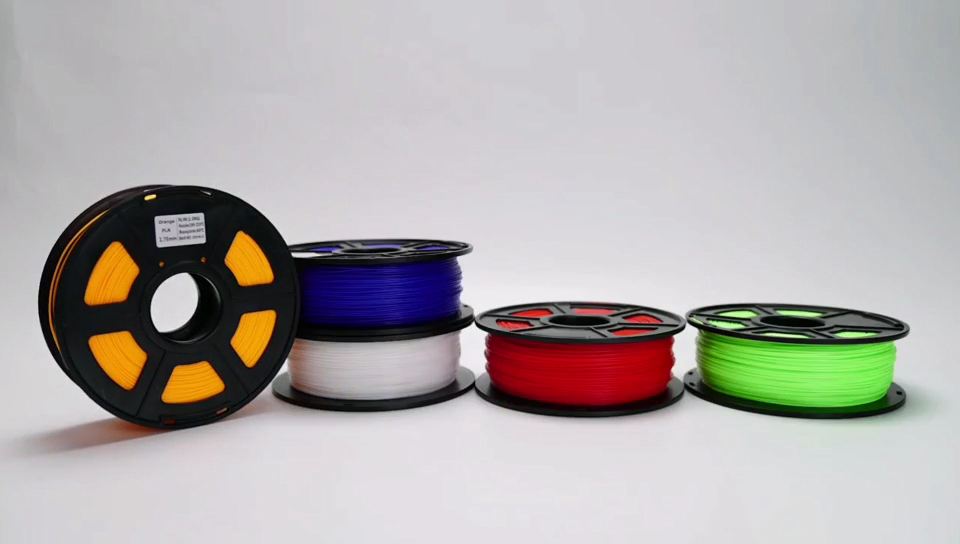 China Original Factory Price High Quality Flexible 1KG 2.2lbs Spool 1.75mm ABS PLA 3D Printer Filament