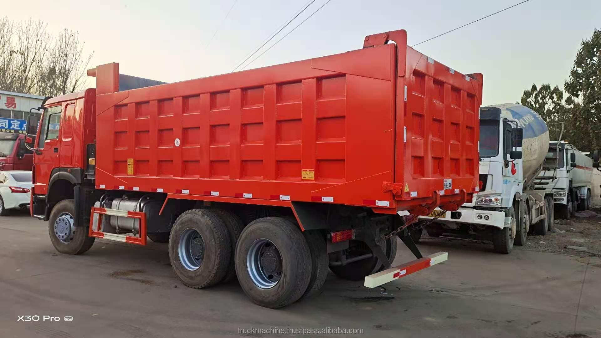 Original china Sino Truck Used 336HP 371HP/375HP/380HP 10