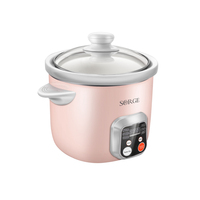 Sorge new design multi function 1.5L slow cooker rice yogurt cooker
