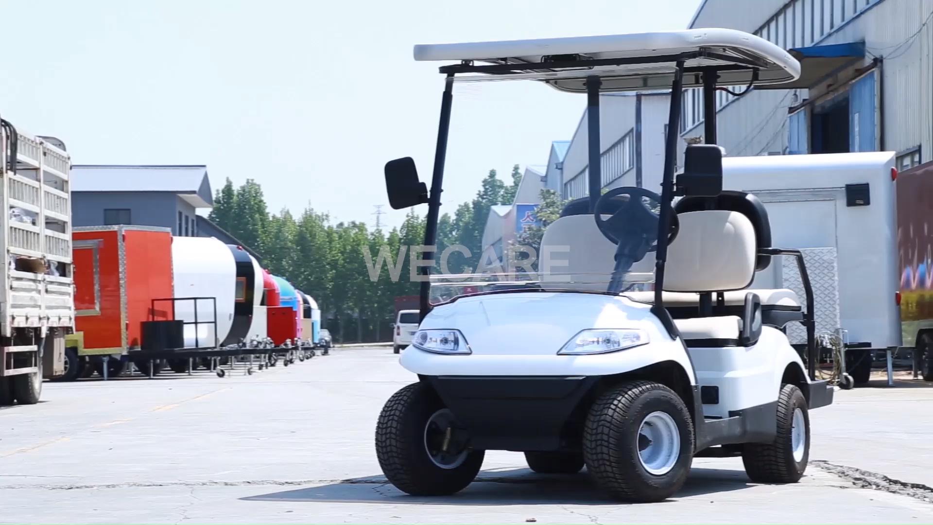 Vendita calda utilizzata elettrica golf car club car golf cart parti