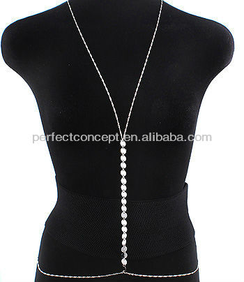 OTHER ACCESSORIES / WEARABLE / BODY CHAIN / DISC / 36 INCH WAIST /