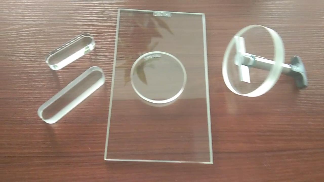 Miroir télescopique de haute qualité, verre en borosilicate