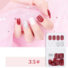Накладные ногти с клеем нажмите на ногти накладные ногти на клей для ногтей на ногти дисплей для ногтей(Китай)