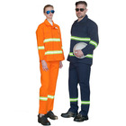 Comfortable safety overalls worker clothes Cotton material uniform Workwear of industrial and mining enterprises