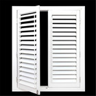 Windows Aluminum Frame Louvers Glass Screen Aluminium Adjustable Burglar Proof Vertical Louver Window