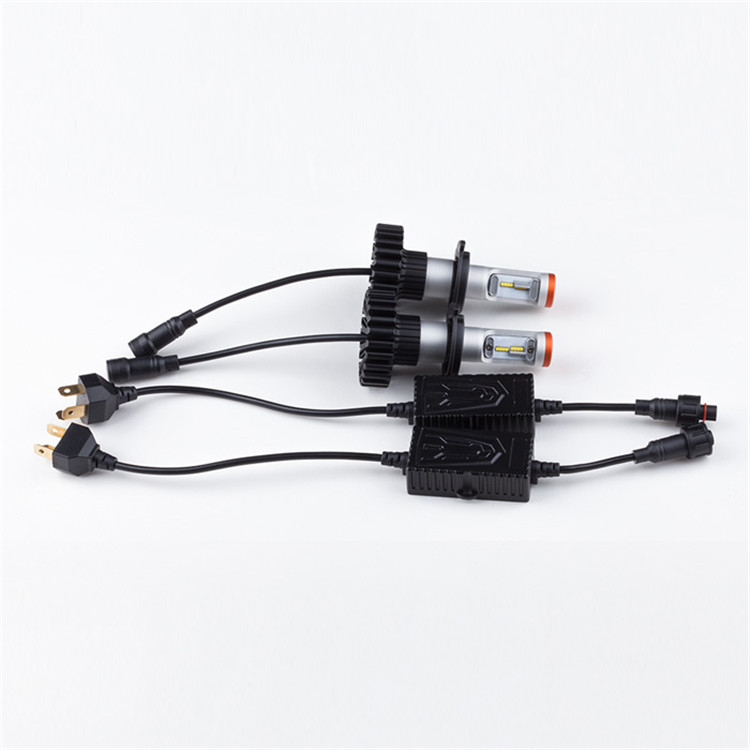 led lights cars body parts fanless led lighting system G6S car logo light H4 motorcycle light