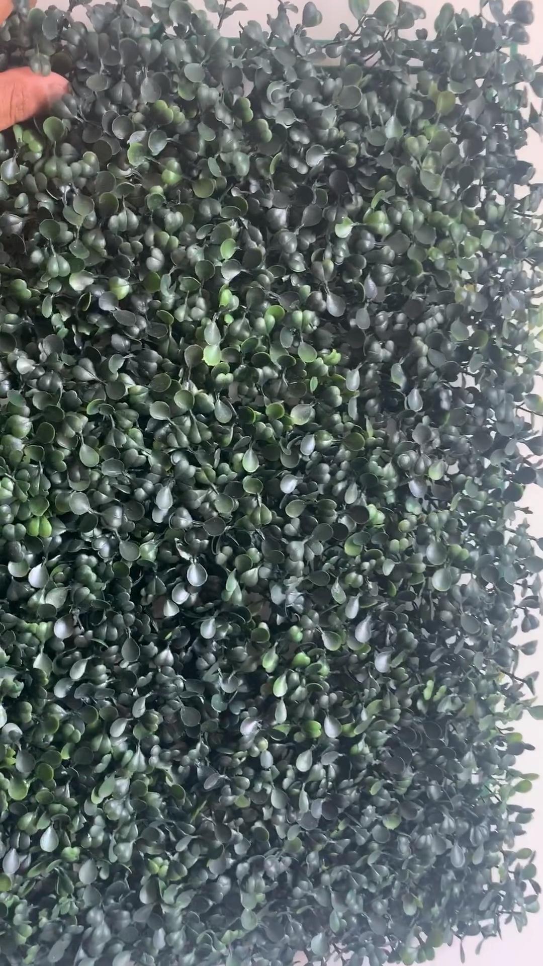 Cây Xanh Nhựa Chống Tia UV 50*50Cm Tấm Hàng Rào Gỗ Hoàng Dương Mat Hàng Rào Nhân Tạo Để Trang Trí Sân Vườn