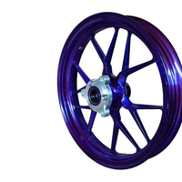 Motorcycle parts front/rear wheel rims13-17 inch Aluminum Alloy wheels for NMAX purple color