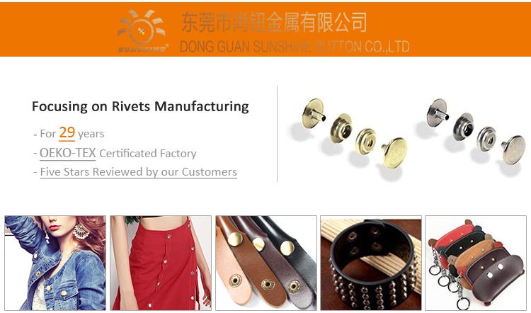 Factory Direct Custom Zwart Zilver Goud Messing Snap Druk Stud Metalen Drukknoop