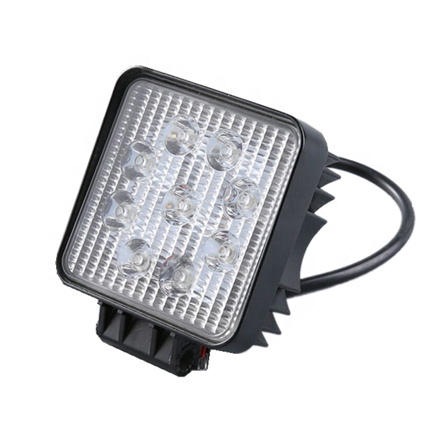 High Quality China Car Accessories,27w,4.3inch,Waterproof IP67 LED Work Light,New Car Accessories Products