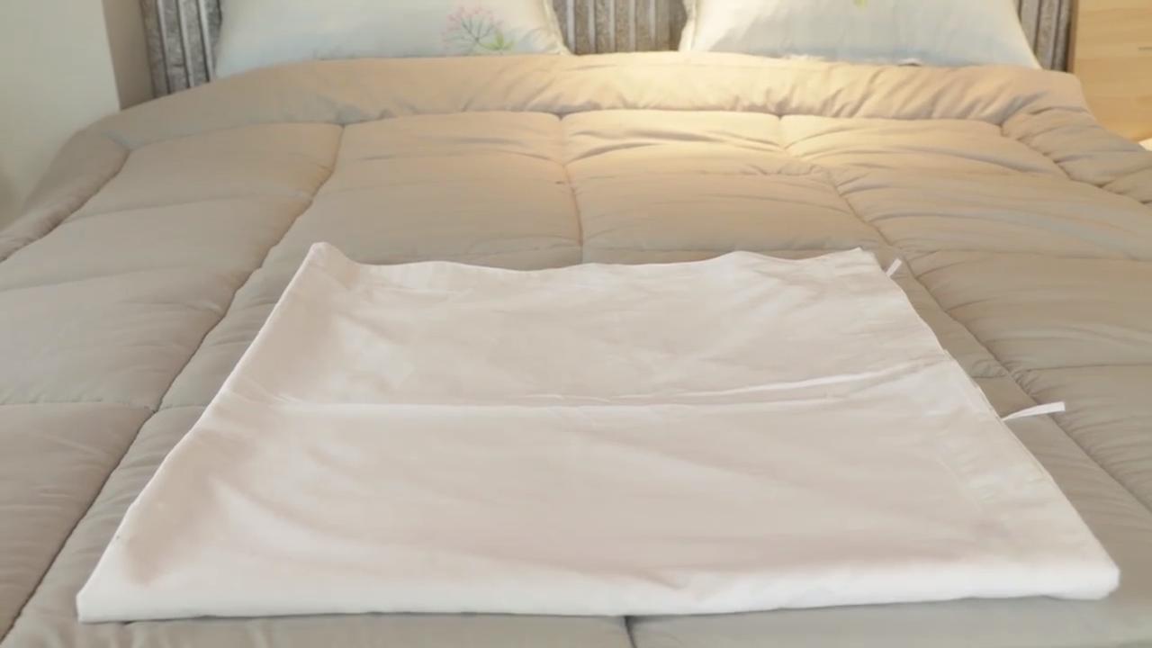 Chine fournisseurs en gros pas cher 100% coton blanc rayé hôtel draps ensemble