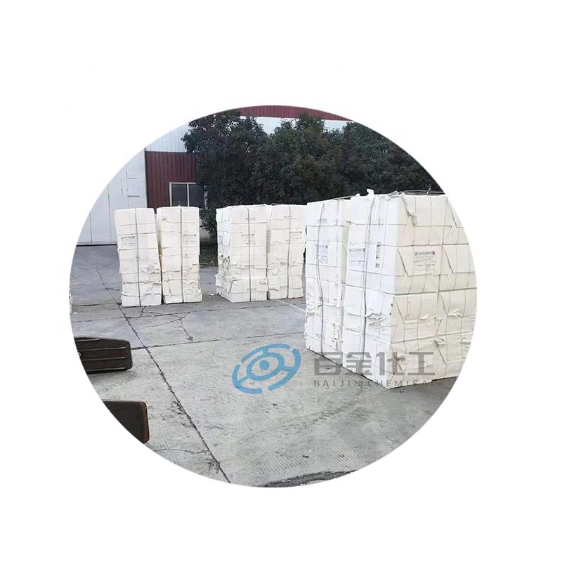 Baijin usine qualité rayonne blanchi à la pâte de dissolution de pâte de bois