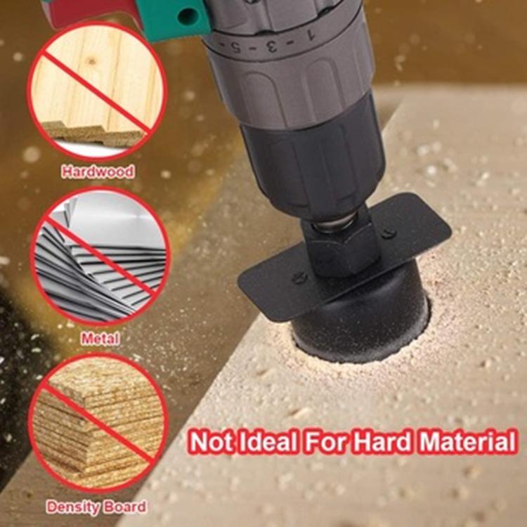 QIPANG Hole Saw Cutting Set Kit 19 Pcs Hole Saw Kit with 13Pcs Saw Blades 2 Drill Bits for Soft Wood Plywood Drywall PVC