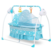 2020 Newest baby cradle 203 portable baby swing bed baby cradle with mosquito net