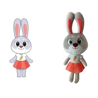 Cartoon Character Custom Made Promotional Gift Plush Stuff Toys