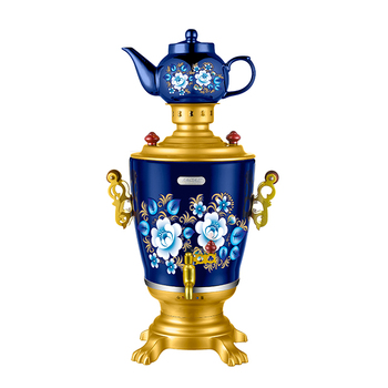 NEW Russian Electric Samovar Kettle Tea Teapot Painted