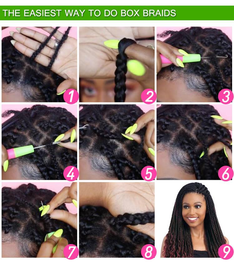Hot Sale 165g/82inch Braiding Hair Expression Braiding Hair Synthetic Braiding Hair