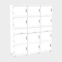 Big capacity high abs plastic moduar 3 drawer metal office file storage cabinet with drawers