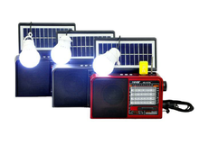 Coulee Solar 6V 1W solar panel MP3 Player Notfall Outdoor Solar Dynamo Radio Mit led-taschenlampe Licht und bluetooth