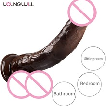 10.43inch Flessibile realistico dildo anale spina butt plug pene Erotici con ventosa per <span class=keywords><strong>adulti</strong></span> <span class=keywords><strong>giocattoli</strong></span> <span class=keywords><strong>del</strong></span> <span class=keywords><strong>sesso</strong></span> per le donne dildo