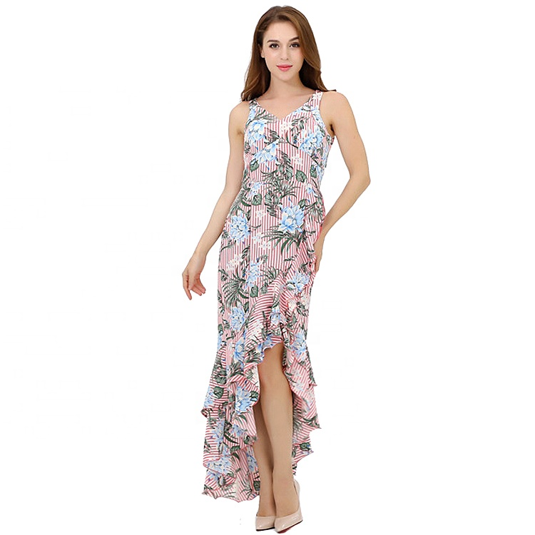 Custom Fashion Designer Floral <strong>Sexy</strong> Tight Woman Long <strong>Dress</strong> Casual Maxi Bohemian Ladies <strong>Dresses</strong>