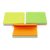 Custom Logo Colorful Notes Pad Self-Adhesive Memo Pads Strong Sticky Notes