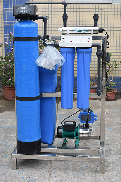 product-Automatic water treatment hard water softener plant-Ocpuritech-img