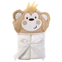 Hooded Baby Bath Towel Bears 100% Cotton Baby Baby Works Hands Free Hoodie Apron Towel bamboo