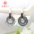Auley High Quality Zircon Pendant Jewelry Clip On Earrings