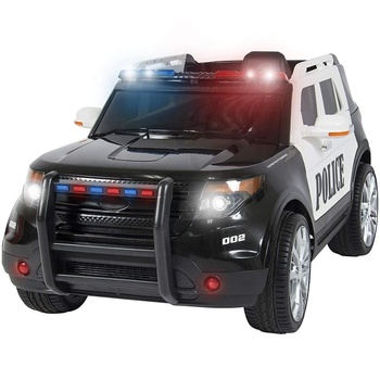 Pletom Hot Selling 12V Police Ride On Car Kids Electric with Lights and Sounds