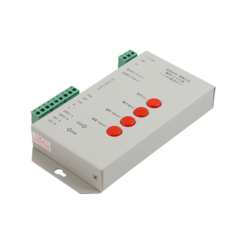 LED software de edicion T1000S led controller for ws2811 pixel led