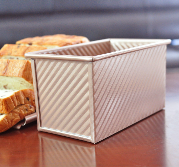 Aluminum alloy non-stick toast bread mold bakeware tools for bakery