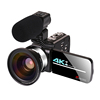 Video Camera + Microphone + Wide Angle Lens