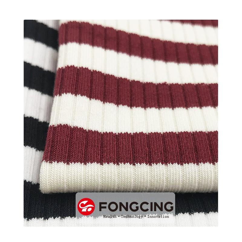 เฉพาะผู้ผลิตยืดCombedผ้าถักผ้าคู่ด้านข้างสิ่งทอสต็อกLot