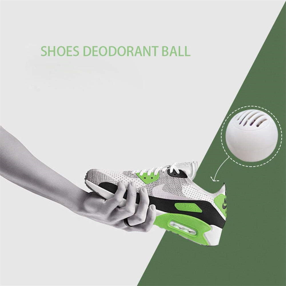10PCS Odor Eliminator Ball for Sneakers Leather Shoes Shoe Cabinet Odor Removal Deodorant