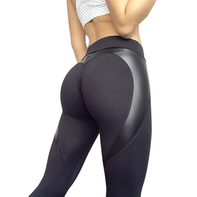 Pantalones de compresión para mujer, ropa deportiva, ropa de Yoga Supplex, mallas deportivas de malla