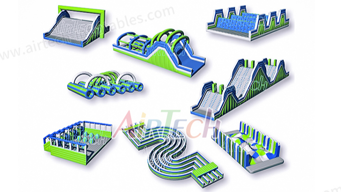 AIRTECH 5K Race Obstacles hot sale insane inflatable 5K obstacle course for event