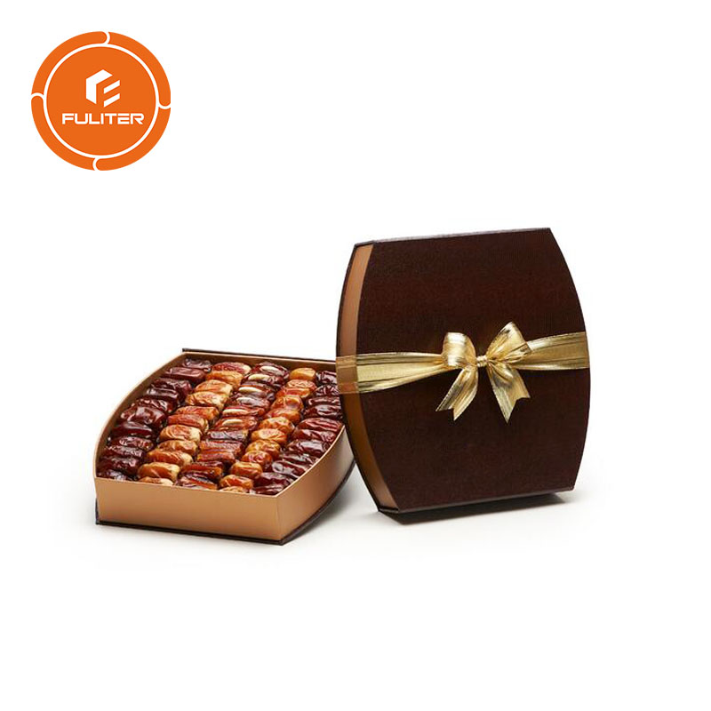 Wholesale Recycle Design Luxury Dry Dates Fruit Packaging Box