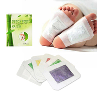 High quality hot sell wholesale detox feet pad 100% natural herb kinoki foot pads detox foot patch