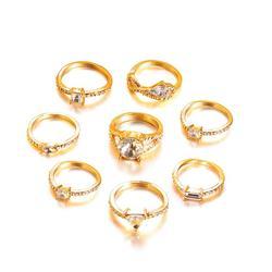 Hot-selling Shining Jewelry Diamond Style Joint Ri